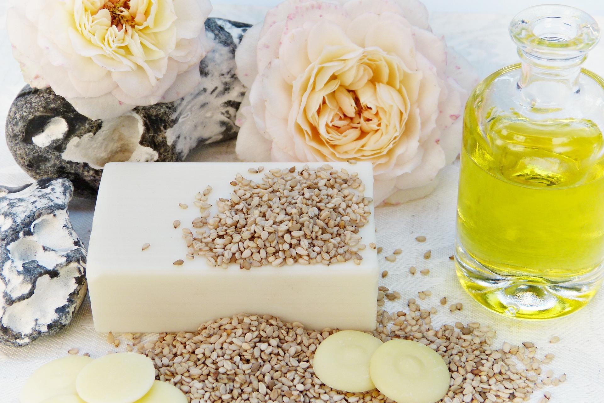 Naturalny olej do masażu