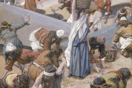 zbieranie manny na pustyni