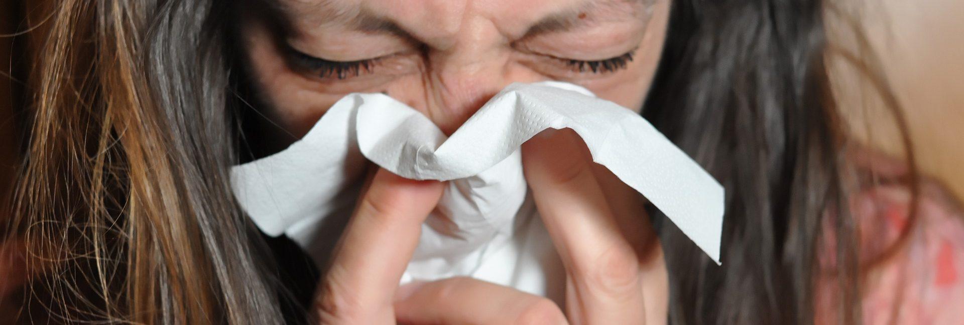 przeziębiłam się